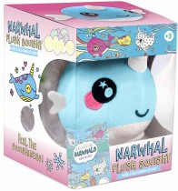 Plush Squishy and Book Kit: Narwhal