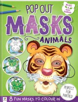 Pop-out Masks: Animals (2019 Ed)