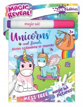 Inkredibles Magic Ink Pictures: Unicorns and More