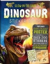 Glow-in-the-dark Dinosaur Sticker Atlas