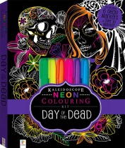 Kaleidoscope Colouring: Neon Day of the Dead Kit