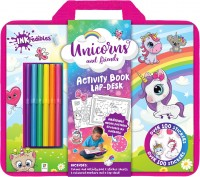 Inkredibles: Unicorns and Friends Activity Book Lap-desk