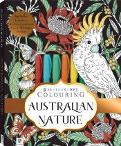 Kaleidoscope Colouring Kit: Australian Nature