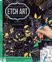 Etch Art Creations Kit: Flora and Fauna