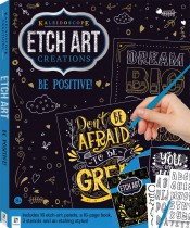 Etch Art Creations Kit: Be Positive! 2020 Edition