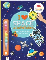 I Love Space Adventures: Colouring & Activity Book