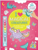 I Love Magical Creatures: Colouring & Activity Book