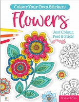 Colour Your Own Stickers: Flowers