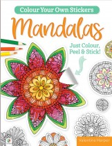 Colour Your Own Stickers: Mandalas