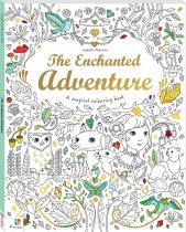 Magical Colouring Book: The Enchanted Adventure