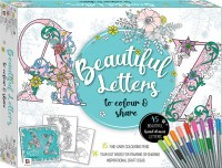Beautiful Letters to Colour and Share Kit
