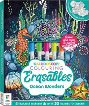 Kaleidoscope Colouring Erasables: Ocean Wonders