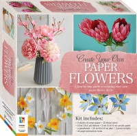 Create Your Own Paper Flowers Box Set