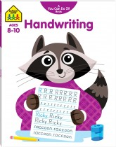 School Zone: You Can Do It! Handwriting Workbook
