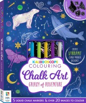 Kaleidoscope Colouring: Chalk Art – Galaxy of Adventure