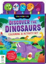 Discover the Dinosaurs Colouring & Activity Set