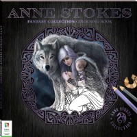 Anne Stokes Fantasy Collection Colouring Book