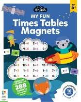 Junior Explorers Magnetic Books: Times Tables