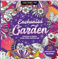 Kaleidoscope Colouring: Enchanted Garden