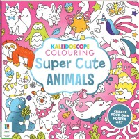 Kaleidoscope Colouring: Super Cute Animals