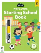 Junior Explorers Write and Wipe: Starting School Book