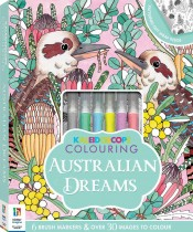 Kaleidoscope Colouring Kit: Australian Dreams