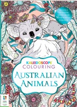 Kaleidoscope Colouring: Australian Animals Deluxe