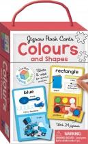 Colours & Shapes Building Blocks Jigsaw Flash Cards