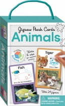 Animals Building Blocks Jigsaw Flash Cards