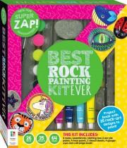 Super Zap! Best Rock Painting Kit Ever