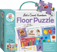 Let's Count Numbers Building Blocks Floor Puzzles