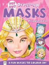 Pop Out Mask Books Princesses