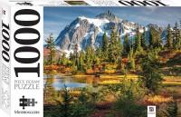 Mount Shuksan and Picture Lake, USA 1000 Piece Jigsaw