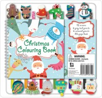 Christmas 12 Pencil Eraser Set