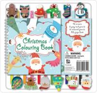 Christmas 12 Pencil Eraser Set