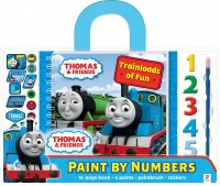 Thomas Paint by Numbers with Carry Handle: Trainloads of Fun