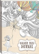 Colour This Journal: Girl With Balloons