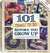 Kids Create: 101 Things to Do Before You Grow Up Mini Binder