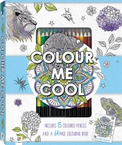 Colour Me Cool Colouring Kit with 15 Pencils