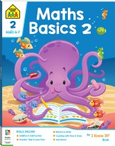 School Zone Maths Basics 2 I Know It Book
