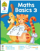 School Zone Maths Basics 3 I Know It Book