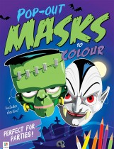 Pop-out Masks to Colour