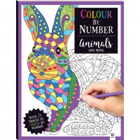 Colour by Number: Animals and More