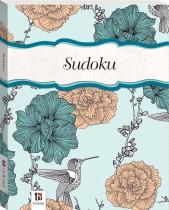 Perfect Puzzles Flexibound Sudoku Blue with Birds