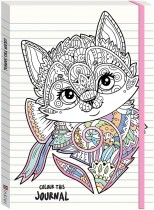 Colour This Journal Kitten