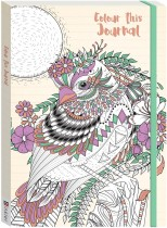 Colour This Journal Bird