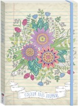 Colour This Journal Bouquet