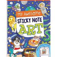 My Awesome Sticky Note Art