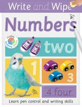 Building Blocks Write and Wipe Numbers