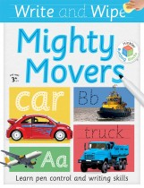 Building Blocks Write and Wipe Mighty Movers